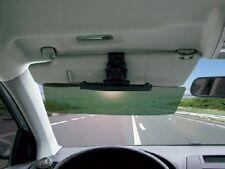 Clip on Car & Van Tinted Anti Dazzle Glare Shade Block Sun Visor Extension