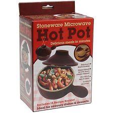 STONEWARE MICROWAVE HOT POT (831047)