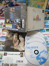 Playstation PS1:Final Fantasy VIII [TOP RPG & 1ERE EDITION] COMPLET - Jap