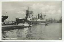AK Fotokarte um 1930 Rotterdam Maashaven ARTAGAN - MENDI