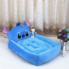 Dog Puppy Sofa Soft Warm Pet Bed House Mat Pad Cushion Couch Kennel Multi Size Blue Viking XL 80*60cm