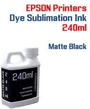 Dye Sublimation Ink - Matte Black 240ml bottle - Epson printers