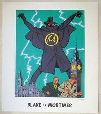 E.P. JACOBS Blake et Mortimer Ex-libris