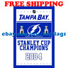Tampa Bay Lightning Stanley Cup Champions Flag Banner 3x5 ft 2019 NHL Hockey NEW