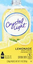 Crystal Light ON THE GO NATURAL LEMONADE (BBD 02 DECEMBER 2018)CLEARANCE