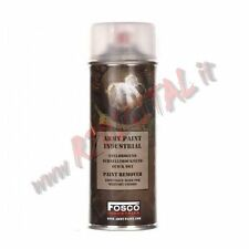 Stripper Weapons Fosco spray paint remover 400ml paint cleaner cylinder