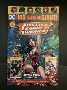 DC JUSTICE LEAGUE of AMERICA 100 PAGE GIANT Comic Book #3 Used