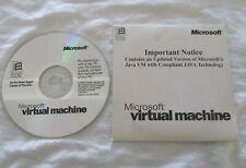 Vintage Microsoft Virtual Machine Java for Windows 98 and NT IE4 Install CD-ROM