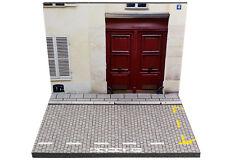 Diorama Porte cochère d'immeuble/Carriage gates - 1/43ème - #43-2-A-A-095
