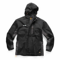 SCRUFFS Black/Graphite All Weather Worker Jacket New For 2019 Lightweight Robust