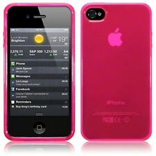 For Apple iPhone 4 Apple iPhone 4S TPU Gel Silicone Case Cover