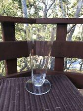 Vintage Barbara Barry Wedgwood Panel Optic Crystal 15.75� Vase