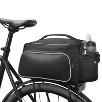 Bicycle Rear Seat Storage Trunk Bag Cycling Bike Pannier Rack Waterproof Handbag