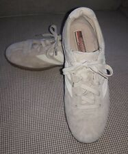 SKECHERS RETRO # 2980 Scooters Women's Tan Suede Leather Sneakers Shoes Sz 8 M