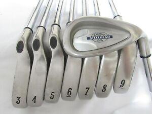 Used RH Callaway SteelHead X-14 Iron Set 3-P UniFlex Steel Shafts