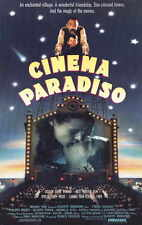 Cinema Paradiso Movie Promo Poster B Philippe Noiret Jacques Perrin