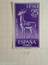 ESPAGNE - IFNI,  1964, timbre 177, PRO INFANCIA, CERF, neuf*, VF MH STAMP