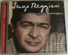 12 SUCCES ORIGINAUX - REGGIANI SERGE (CD)  NEUF SCELLE