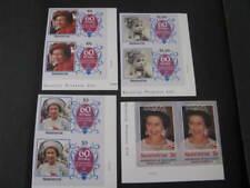 Montserrat Stamps Imperf. Scott # 600-603 Never Hinged Unused Lot 41