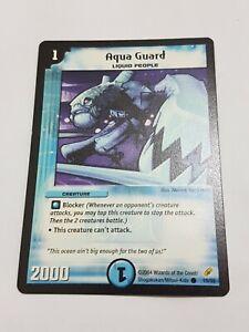 Aqua Guard Duel masters DM-01 Base Set