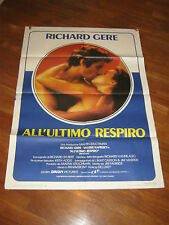 MANIFESTO,  ALL'ULTIMO RESPIRO RICHARD GERE,V.KAPRISKI