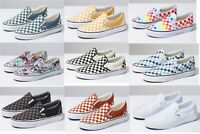 Vans CLASSIC SLIP On Canvas Sneaker Shoes All Size NEW IN BOX ! Fast Shipping !