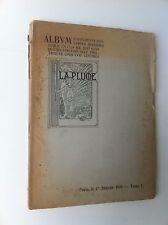 LA PLUME  Album Affiches Estampes modernes 1900 ROPS CHERET STEINLEN LAUTREC