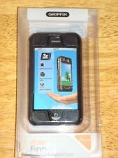 Griffin elan Form iPhone Hard shell Leather case NEW 2-pc snaps snug