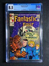 Fantastic Four #45 CGC 8.5 (1965) - 1st app of the Inhumans