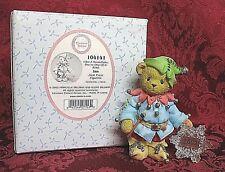 Cherished Teddies Dated 2002 Figurine 104141~Ian~Jack Frost~Like A Snowflake