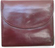 -AUTHENTIQUE portefeuille-porte-monnaie  cuir  TBEG vintage 60's