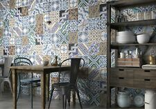 A RIOT OF COLOUR AND BEAUTY - MONTMARTE VINTAGE PATTERNED PORCELAIN TILES 10sqm