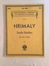 Hrimaly Scale Studies for the Violin
