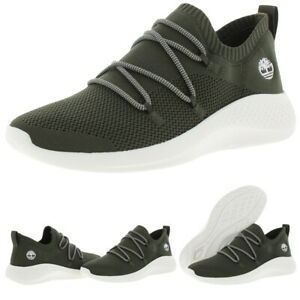 Timberland Flyroam Go Knit Men's Mesh Jacquard Athletic Lifestyle Sneakers