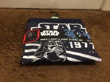 BNWT STAR WARS Join The Dark Side Pyjamas set T-shirt & shorts Medium Size
