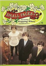 SMALL FACES - THE DARLINGS OF WAPPING WHARF LAUNDERETTE  MAGAZINE NUMBER 16  MOD