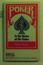 Poker is the Name of the Game, Walter Gibson