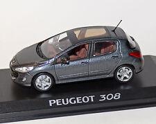 Peugeot 308 grau-Metallic, 1:43, NOREV