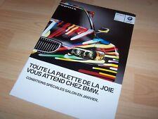 Catalogue / Brochure BMW nouveautés 2011 //