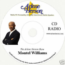 Montel Williams Interview 3 segments 20 min  CD