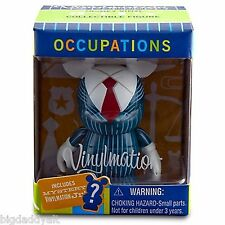 """NEW DISNEY 3"""" VINYLMATION OCCUPATIONS BUSINESSMAN with 1.5"""" JR FIGURE SEALED"""