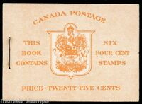 CANADA COMPLETE UNEXPLODED BOOKLET STANLEY GIBBONS #SB45  MINT NH STAMPS