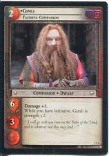 Lord Of The Rings Foil CCG Card RotK 7.C6 Gimli, Faithful Companion