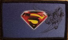 SUPERMAN LOGO Patch With VELCRO® Brand Fastener Funny Tactical Emblem #4