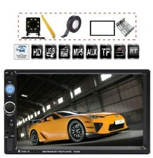 7 inch Double Din Touch Screen Car Stereo  MP5/4/3 Player FM Radio Backup Rear