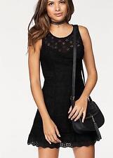 AJC Lace Black Dress Size 12 RE078 GG 04