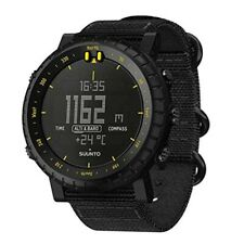 SUUNTO Core SS050276000 Black yellow 3ATM azimuth Altitude Atmosphere Depth