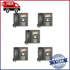 Joblot of 5 Avaya 9640 IP Telephone 700383920