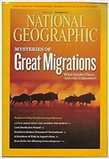 FREEPOST National Geographic Nov 2010 ANIMAL MIGRATIONS AZTEC JAPAN SEA SUDAN