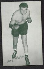 Joey Maxim 1947-63 Exhibit Card Boxing Trading Card